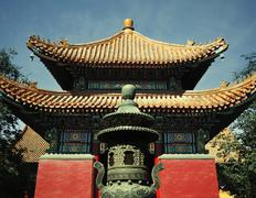 Chinese traditional pagoda, daytime Stock Photos