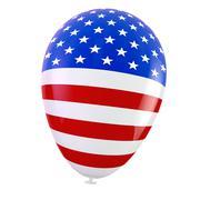 USA balloon Stock Illustration