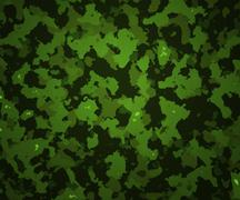 Green camouflage texture army background Stock Illustration