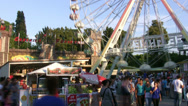 Stock Video Footage of amusement park