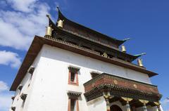 bodhisattva chenrezig temple - stock photo