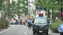 Anti Nuke Demo Tokyo Stock Footage