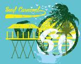 Paradise palm island vector art Stock Illustration