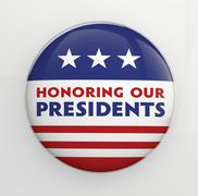 Presidents Day - stock illustration