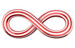 Infinity symbol Stock Illustration