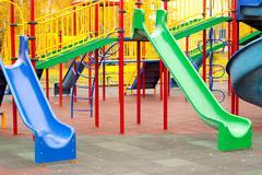 Stock Photo of childish playground