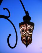 Arabic lamp Stock Photos