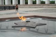 Stock Photo of Eternal Flame Moscow