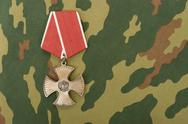 Stock Photo of russian medal