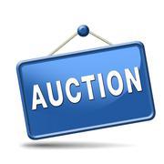 Stock Illustration of auction icon