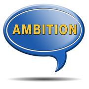 Stock Illustration of ambition
