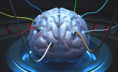 Science Brain Stock Photos