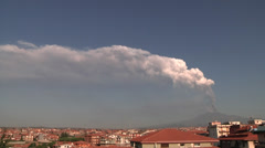 Etna, Oct 26, 2013 Stock Footage