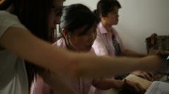 Beijing VoTech Computers 3 MCU Stock Footage