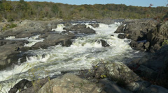 Great Falls Wide Shot - stock footage