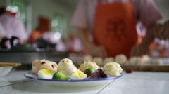 Beijing VoTech Cooking 7 CU Stock Footage