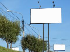 billboards - stock photo