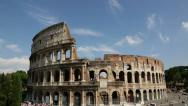Stock Video Footage of Colosseum, Rome, Italy
