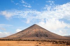 Volcanic mountain Stock Photos