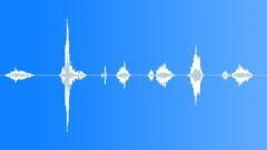 Sharp knife short grind - 7 variations Sound Effect