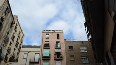 In the streets of Barcelona. Spain. Stock Footage