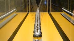 Museu de la Ciencia CosmoCaixa, Barcelona. - stock footage