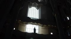 Sagrada Familia, Barcelona. Stock Footage