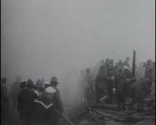 1917 - Fires In San Francisco 02 - stock footage