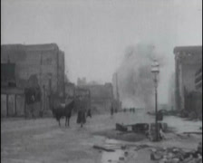 1917 - Fires In San Francisco 05 - stock footage