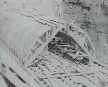 1917 - Twin-Peaks Tunnel Construction - 08 Stock Footage