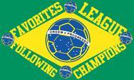 Brazilian football retro style vector art Stock Illustration