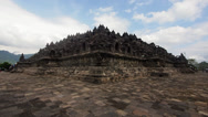 Stock Video Footage of Borobudur Monument in Java, Indonesia