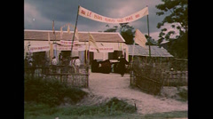 Vietnam War - Vietcong Children Propaganda - 01 Stock Footage