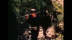 Vietnam War - Vietcong Soldiers In Jungle 01 Stock Footage
