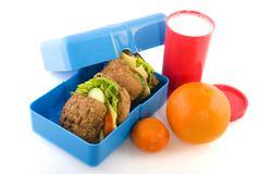 Healthy lunchbox Stock Photos