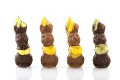Easter hares Stock Photos