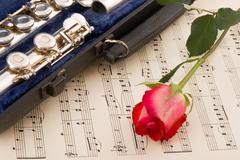 musical arrangement - stock photo