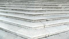Marble stairway - stock footage