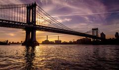 Manhattan River Walk - stock photo