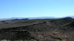Desert Landscape Pan R to L - stock footage