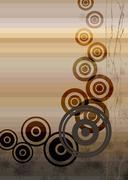 circle mix - stock illustration
