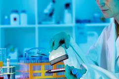 biological culture - stock photo