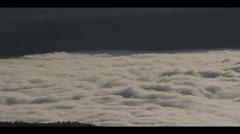Sea of Fog 02 (Timelapse) Stock Footage