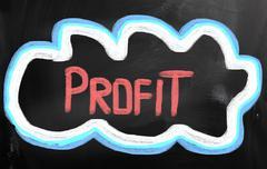 Profit concept Stock Illustration