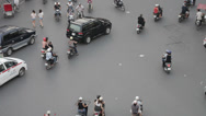 Stock Video Footage of Traffic in Hanoi