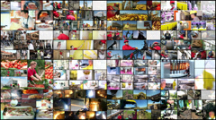 Industrial Montage - stock footage
