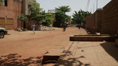 Timelapse in bamako's street Stock Footage