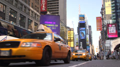 Broadway  in New York Stock Footage