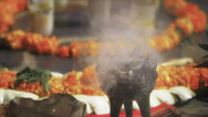Stock Video Footage of Incense burning in aztec ceremony