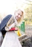 Stock Photo of Blond girl